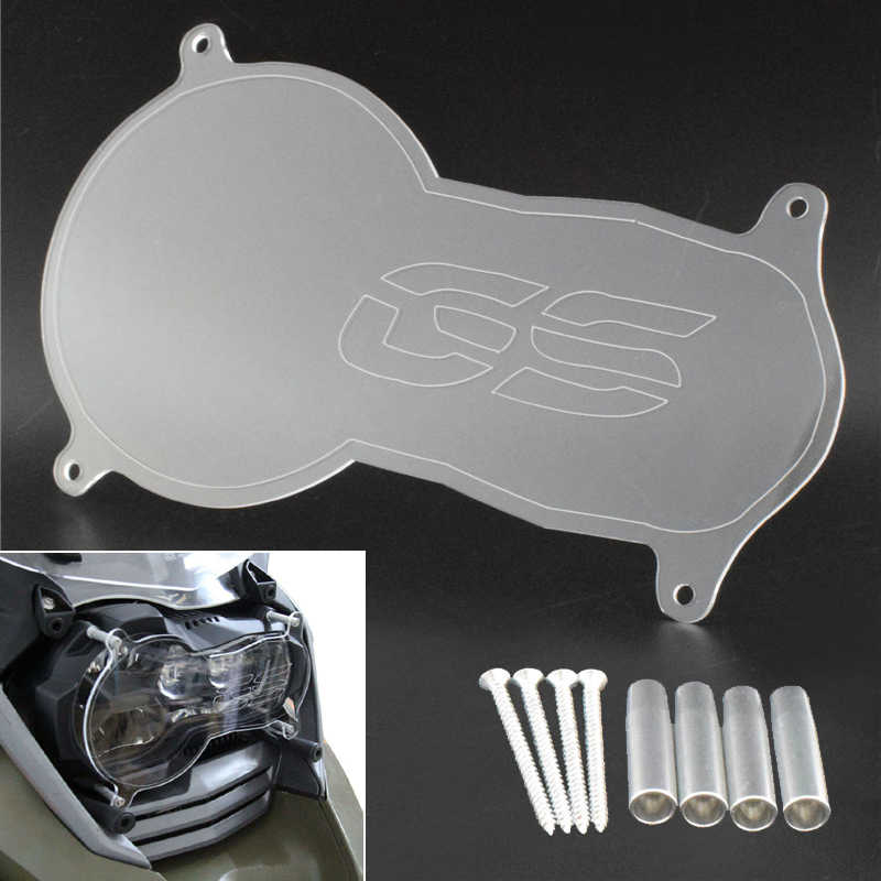 Front Headlight Guard Cover Lens Protector For 2013-2018 BMW R1200GS Adv R1250GS