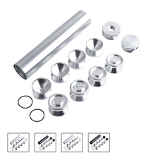 SPEEDWOW 13Pcs Aluminum Fuel Trap Solvent Filter With D Cell Storage Cups For NAPA 4003 WIX 24003