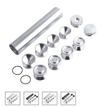 SPEEDWOW trampa de combustible de aluminio filtro solvente con celda D, tazas de almacenaje para NAPA 4003 WIX 24003, 13 Uds.
