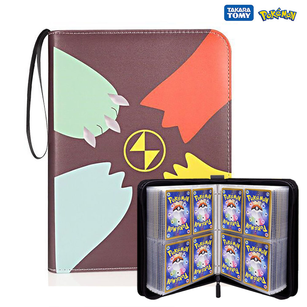 400PCS Pokemon Cards Album Book Cartoon Anime Game Card EX GX Collectors Folder Holder Top Loaded List Cool Toys Gift