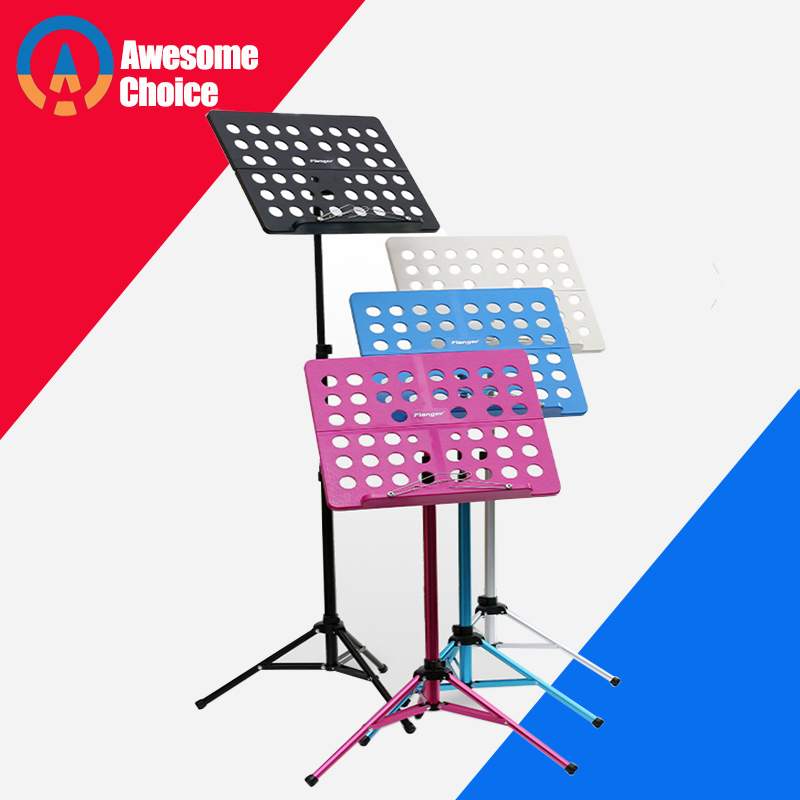 Adjustable Height Sheet Music Tripod Stand Holder For  Violin Piano Guitar Instrument Lightweight High Quality 5 Colors