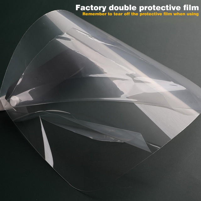 Universal Head Mounted Clear Face Protection Shield Saliva Splashing Proof Transparent Face Screen Dropshipping 4