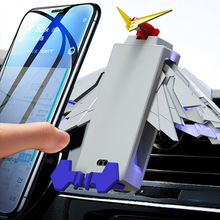 2019 Hot Wireless Charger Phone Holder with Wings Smartphone Mount for Desk Car Vehicle For DOY