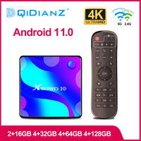 2020 neue Android 11 Smart TV BOX X88 pro 10 RK3318 4K 1080 Media Player Google Store Youtube x96 h96 decoder