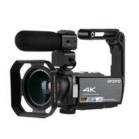 Videocámara de visión nocturna IR 4K, Full HD, Ordro AE8, cámaras digitales Vlog, Filmadora profesional para YouTube, Blogger
