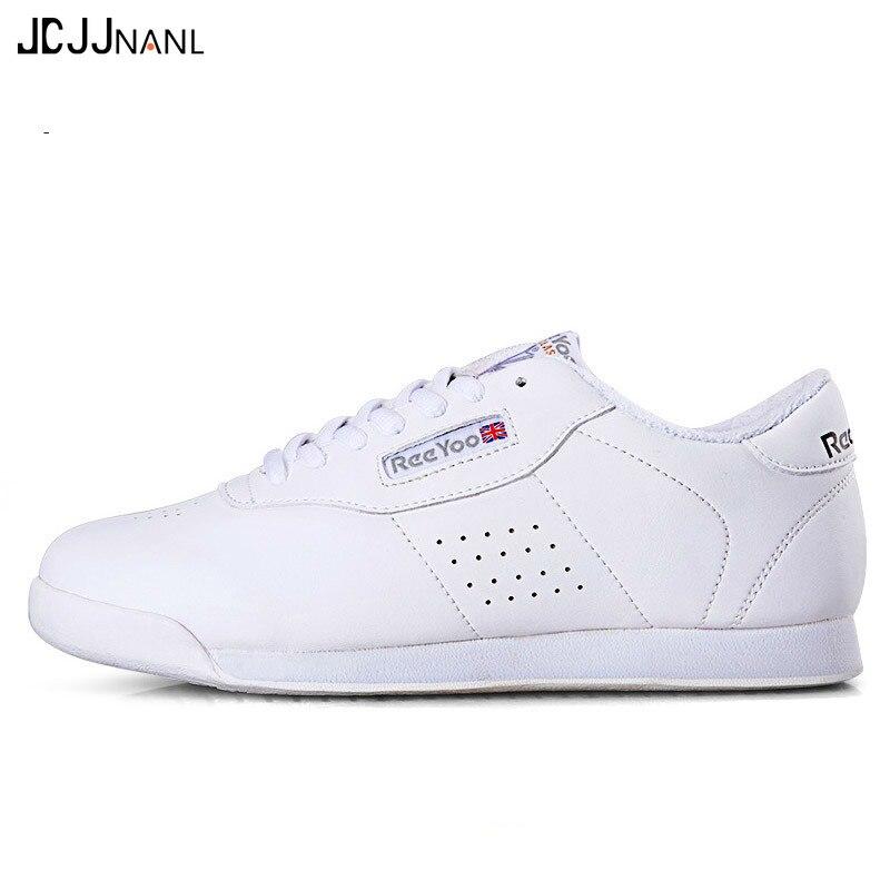 Man Women Sports Fitness Gym Shoes Boys Girls Aerobics Dance Shoes White Children's Competitive Modern/Jazz/Hip-hop Dance Shoes