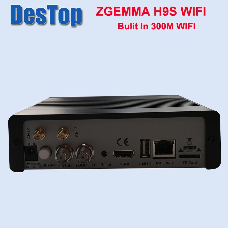 Ricevitore satellitare Zgemma H9S 4K UHD DVB S2X