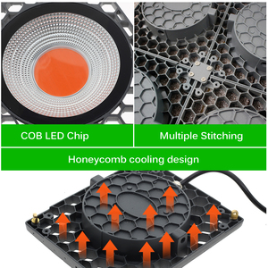 Image 4 - Oświetlenie led do uprawy 500W Full Spectrum wysoka jasność wydajność 50W COB lampy fito na roślina doniczkowa sadzonka rośnie i kwiat