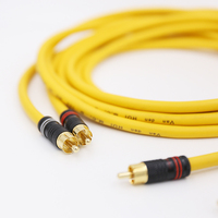 Paar VDH MC D102 MK III HYBRID RCA Interconnect Kabel  draht mit 24k Gold überzog RCA stecker