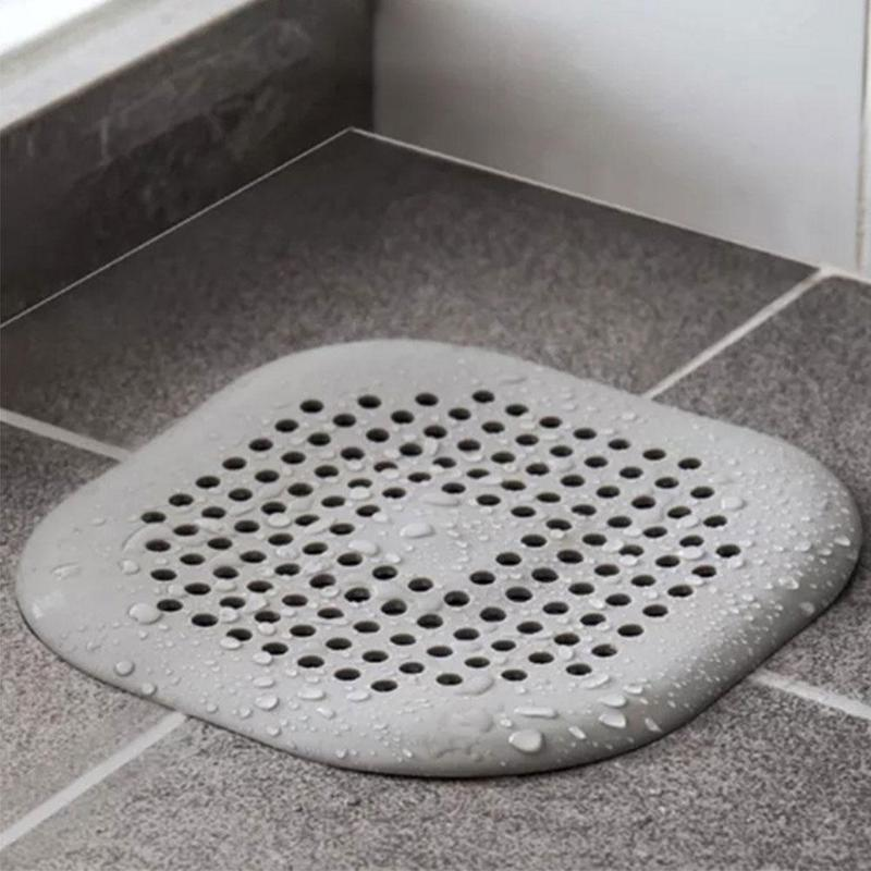 Kitchen Sink Anti-blocking Silicone Floor Drain Cover Bathroom Drain Hair Sewer Screen Shower Drain Cover