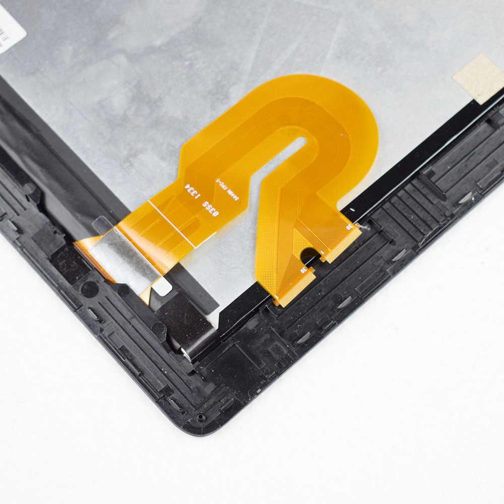 الأصلي 10.1 ''ل Asus محول الوسادة TF701T TF701 LQ101R1SX03 LCD شاشة عرض محول الأرقام بشاشة تعمل بلمس الزجاج قطع تجميع
