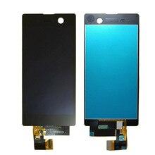 Sony Xperia için M5 dokunmatik LCD ekran ekran meclisi E5603 E5606 E5653 LCD ekran Digitizer sensörü cam Panel E5633 E5643 E5663