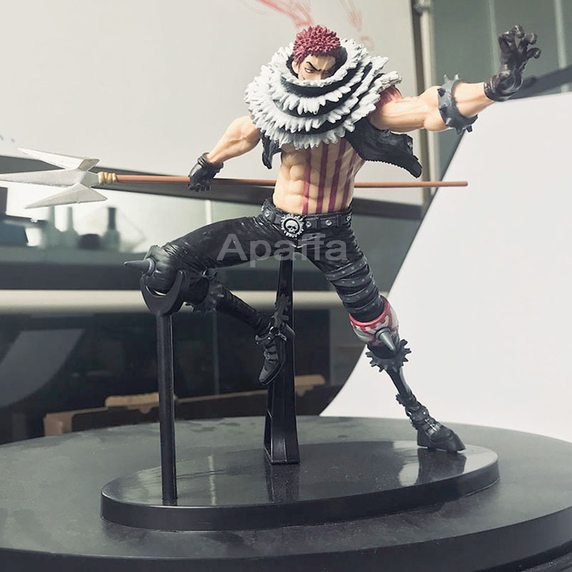 15 CM Anime Figure One Piece Action Figure KOA King of Artist Charlotte Katakuri PVC Collectible Model Toy Gift Toy for Children image