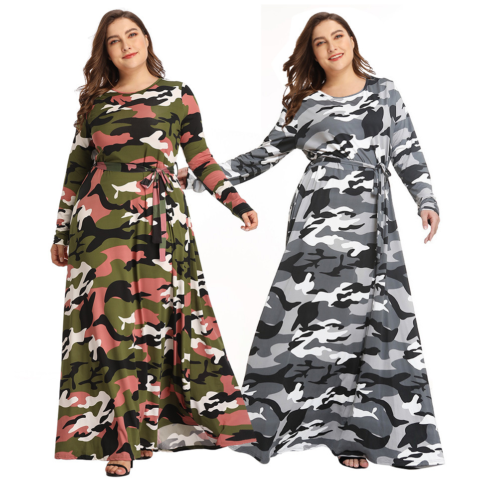 7933 Cross Border New Style Hot Selling Europe And America Amazon EBay Large Size Fall And Winter Clothes Plus-sized Womenswear