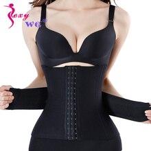 SEXYWG Slimming Body Shaper Waist Support Belt for Women Shapewear Trainer with 16 Steel Bone Firm Pulling Strap Underwear