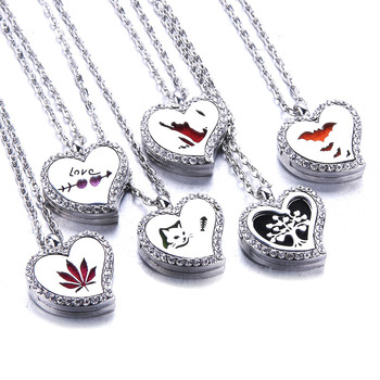 locket Necklace Stainless Steel 1