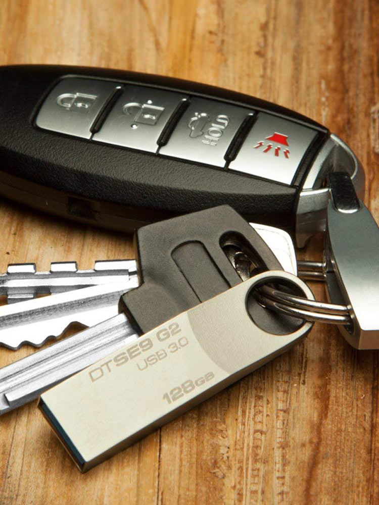 Kingston Flash-Drives Lanyard Metal Custom-Disk 128GB-STICK 16GB 32GB 64GB with for Keys