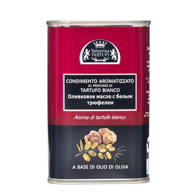Масло с ароматом белого трюфеля (Olio aromatizzato tartufo bianko итальянская кухня) ж/б, 250 мл.