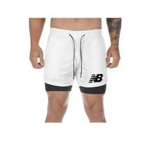 2021 camo correndo shorts masculino 2 em 1 double-deck secagem rápida ginásio shorts do esporte de fitness jogging calções de treino masculino esportes calças curtas