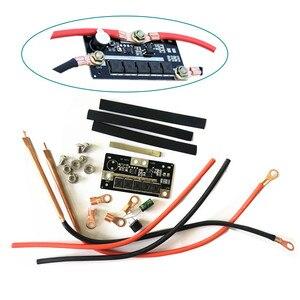 Diy portátil 12 v bateria armazenamento ponto máquina de solda pcb placa circuito equipamentos soldagem ponto soldadores caneta para 18650/26650/32650