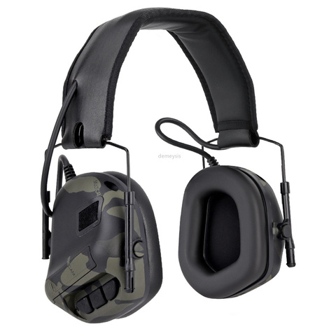 tiro ao ar livre fone de ouvido protecao fone de ouvido reducao de ruido tatico