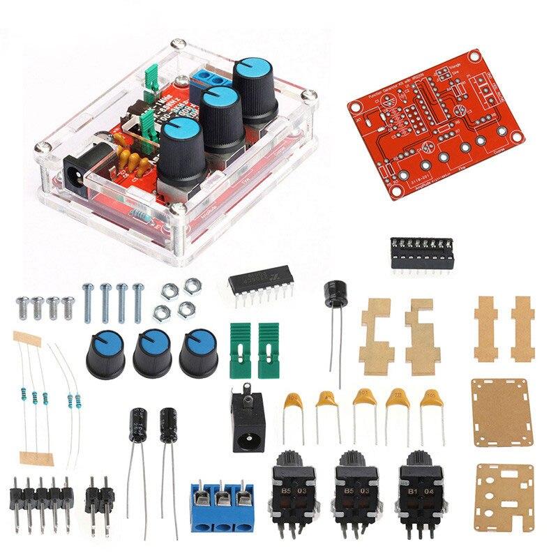 Генератор сигналов XR2206, комплект «сделай сам», синусоидальный/треугольный/квадратный выход, генератор сигналов 1 Гц-1 МГц, регулируемая ампл...