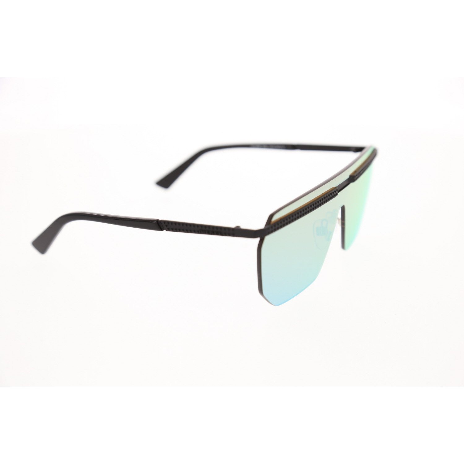 Women's sunglasses dl 0259 GCC unibody black polycarbonate rectangular rectangle 137-16-140 diesel