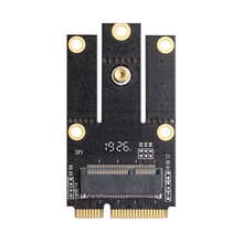 M.2 NGFF к Mini PCI-E(PCIe+ USB) Адаптер для M.2 беспроводной Блютуз Wlan карты Intel AX200 9260 8265 8260 для ноутбука