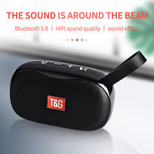 Bluetooth Колонка tg173 портативная с поддержкой fm радио и