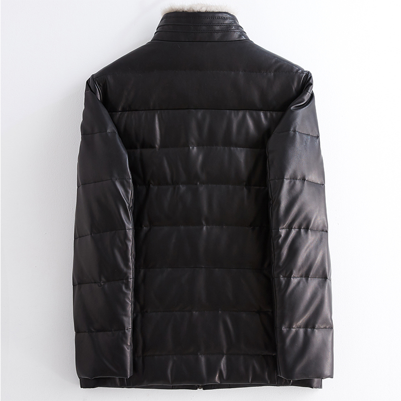 Genuine Leather Jacket Mink Fur Coat Female Jacket Autumn Winter Women Clothes 2020 Korean Vintage Sheepskin Down Coat ZT4490