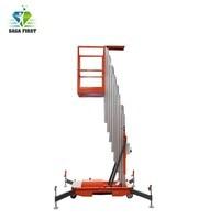 Hydraulische Aluminium Mast Vertikale Elektrische Hebe Ausrüstung