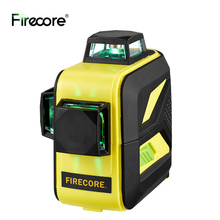 Laser-Level Cross-Lines Firecore f93t-Xg Green Auto 360 3D with