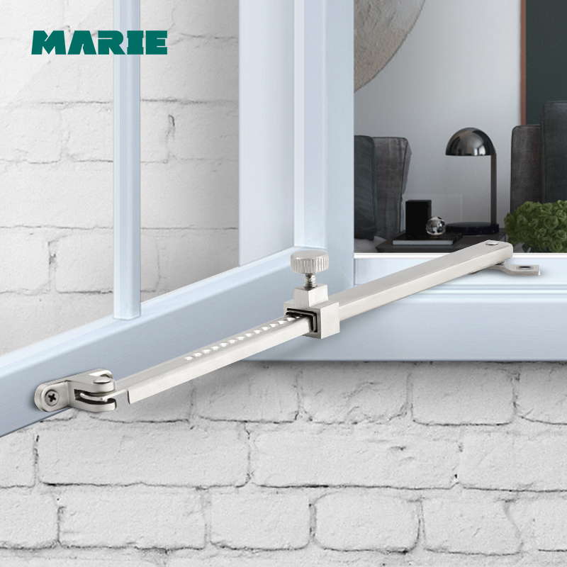 335mm Stainless Steel #304 Security Window Latches / Window Stay / Wind Brace
