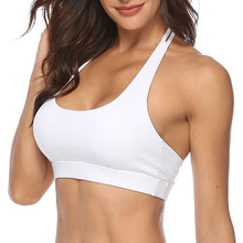 цена на Female Sport Bra Yoga Underwear Fitness Bra Top Sports Gym Running Fitness Yoga Bra Top Shock-Proof High-Intensity For Sports