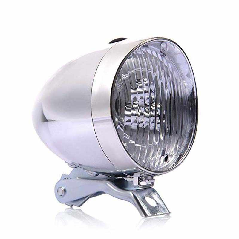 Retro 3 LED MTB Fahrrad Licht Wasserdichte Fahrrad Kopf Licht Lampe Vorder Road Taschenlampe Halterung Berg Radfahren Zubehör