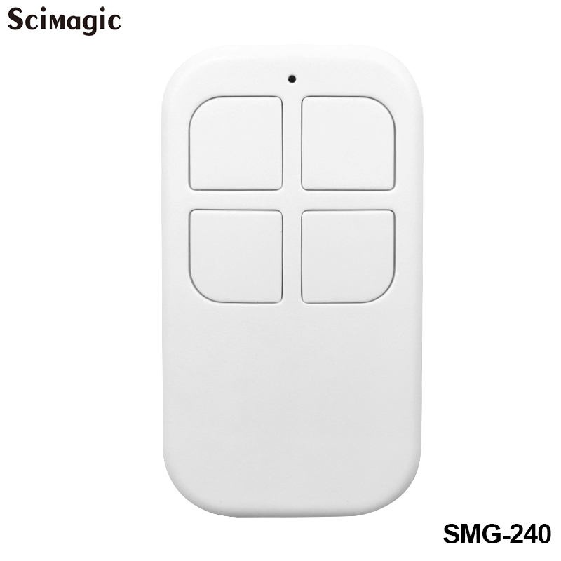 433.92 MHz Garage Door Remote Control Command Garage 433MHz Gate Control Rolling Code Fixed Code Transmitter