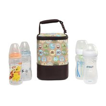 Fashion Baby Handbag Bottle Bag Thermo Bottles Mummy Handbag Baby Bag Insulation Bags Breast Milk Thermal Food Warmer(China)