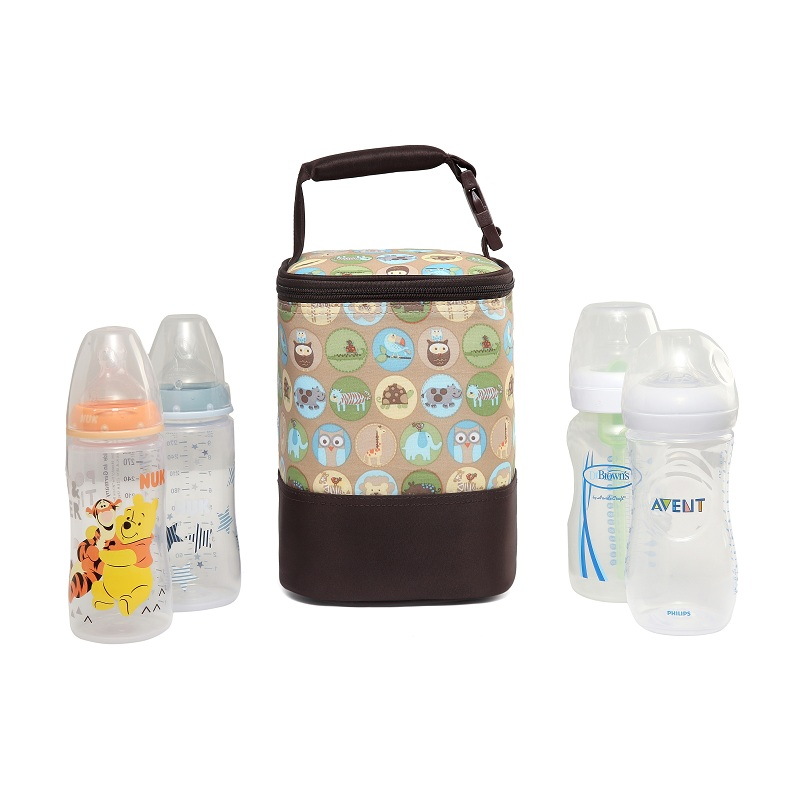 Baby Milk Bottle Insulation Bag Mummy Outdoor Feeding Warmer Thermal Organizer S