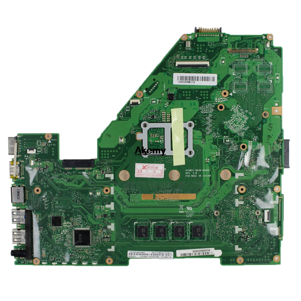 Akemy X550CC Laptop motherboard para ASUS X550CA