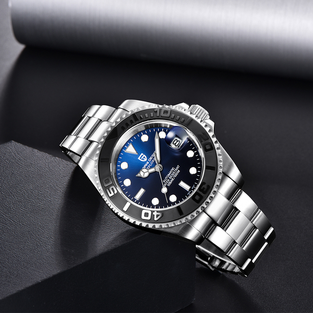 PAGANI Design Men Automatic Watch Sapphire Luxury Mechanical Wristwatch Stainless Steel Waterproof Watch Men relogio masculino 3