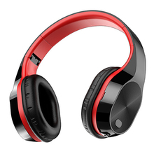 RISE T5 HiFi نشط إلغاء الضوضاء سماعات لاسلكية بلوتوث 5.0 سماعات على الأذن سماعة قابلة للطي مع ميكروفون fo