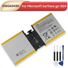 Оригинальный запасной аккумулятор g16qa043h для microsoft surface