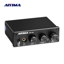 AIYIMA Audio Decoder Fiber Coaxial USB Decoder Bass Treble Adjustment DAC With Headphone Amplifier For Home Sound Theater