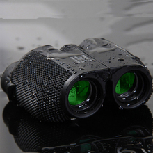 High Quality 10X25 BAK4 Double Green Film Waterproof High Powered Zoom Binocular Mini Portable Hunting Travel Telescope For Camp цена и фото