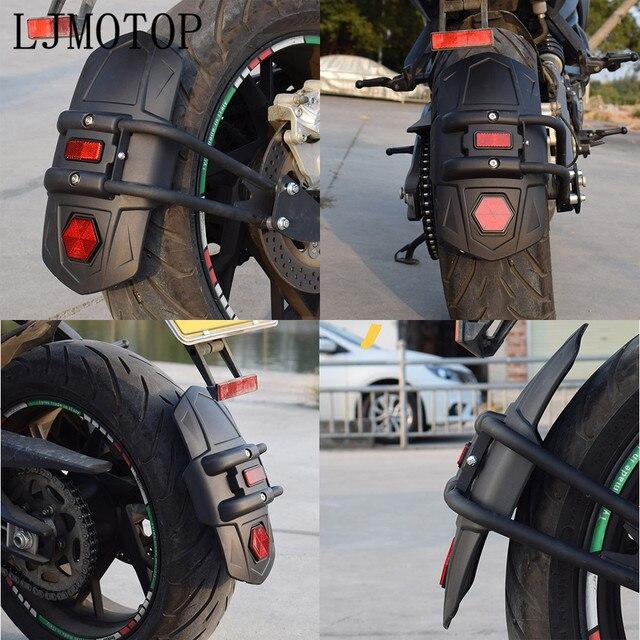 Tylny błotnik motocyklowy Moto osłona tylnego koła osłona rozbryzgowa błotnik dla KAWASAKI GTR1400 Concours Z1000SX NINJA 1000 H2 H2R ZX10R
