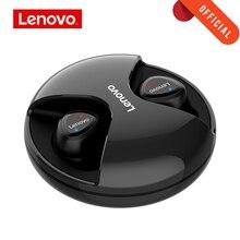 Lenovo Bluetooth écouteur R1 TWS véritable sans fil écouteurs HIFI double stéréo musique sport écouteurs avec micro pour iphone Android