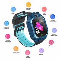 Z6/Q19/T10 Children's Smart Watch IP67 Waterproof 2G/4G SIM Card GPS Tracker SOS Anti-lost Smart Watch For IOS Android PK Z5 Q12