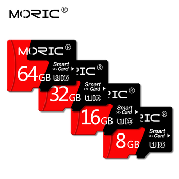 Original Moric Micro SD Card SD/TF Flash Card memory card 4GB 8GB 16GB 32GB 64GB 128GB 256GB Class 10 image