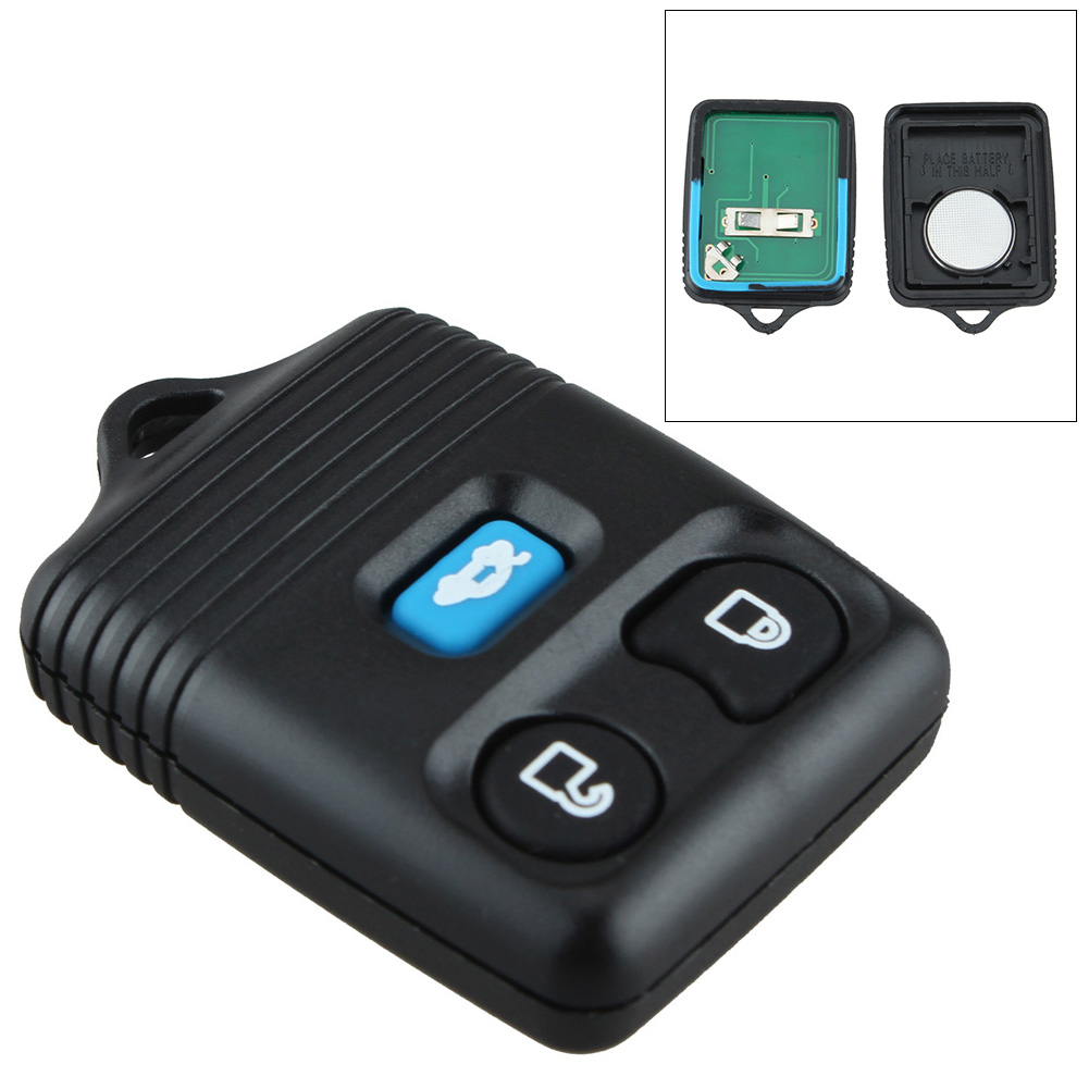 433Hz 3 Buttons Keyless Entry Remote Control Car Key Fob Transmitter Replacement Alarm for Ford Mazda Mercury Car Vehicle Auto image