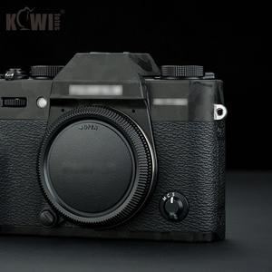 Image 5 - Kiwi anti risco câmera corpo capa protetor de pele para fujifilm X T30 fuji xt30 câmera anti slide filme 3 m adesivo sombra preto